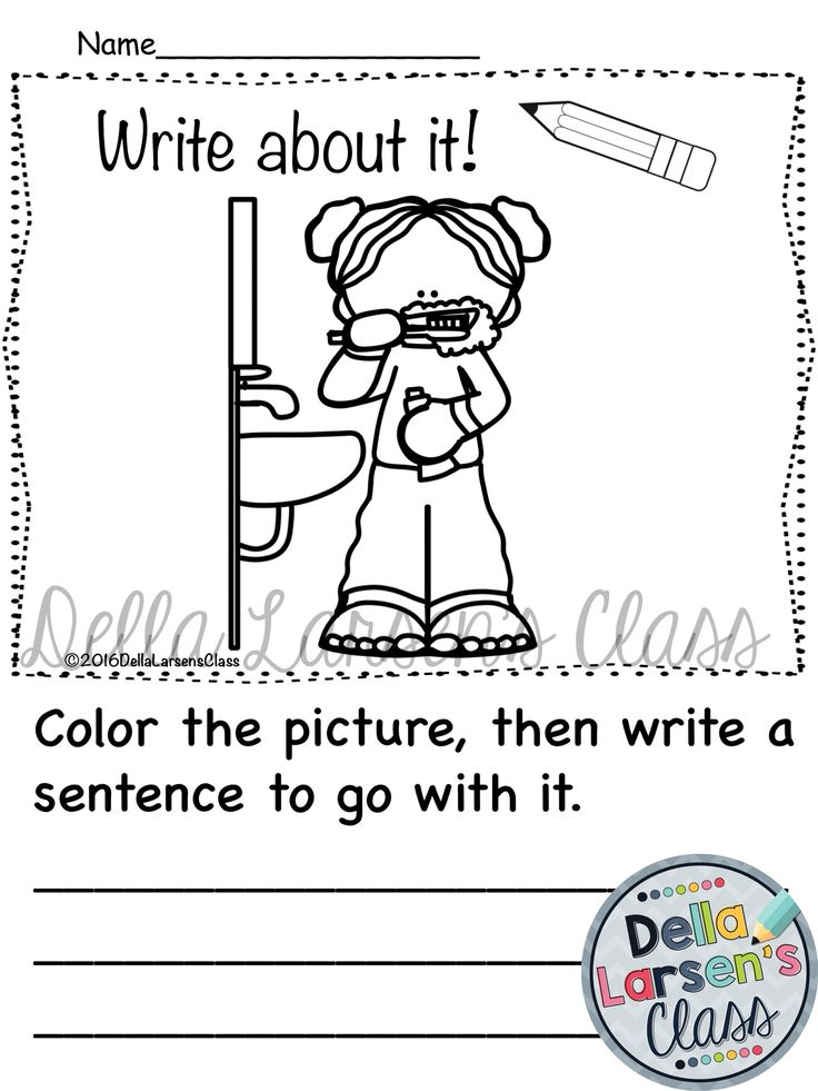 Getting ready for school writing prompts. These visual