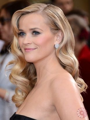 Reese Witherspoon Oscars Hairstyles 2013 Best Celebrity Hairdos