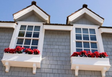 Exterior Cape Window Trim Styles