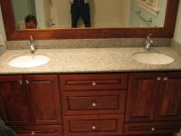 Bertch Hudson Cherry cabinetry with Hylastone recycled ...
