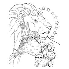 10 Free Printable Narnia Coloring Pages For Your Toddler