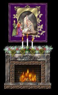 Animated Christmas Fireplace | Thoughts Of Christmas...A ...