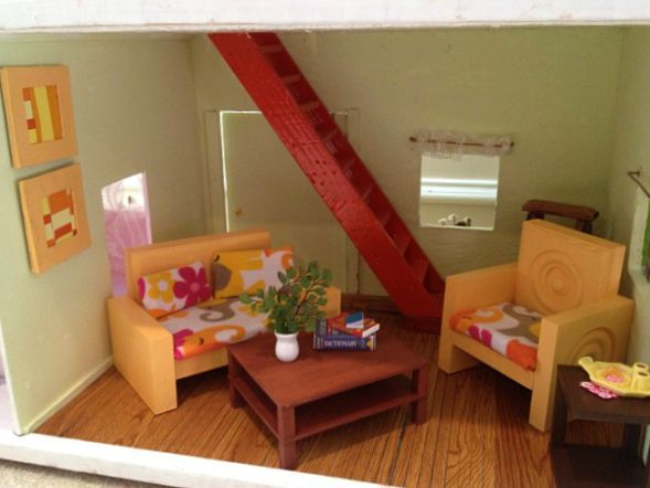 1000 Images About Doll House Ideas On Pinterest