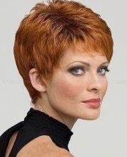 red pixie haircut ideas