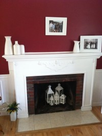 Summer fireplace (Lanterns!) | Fireplace with no fire ...