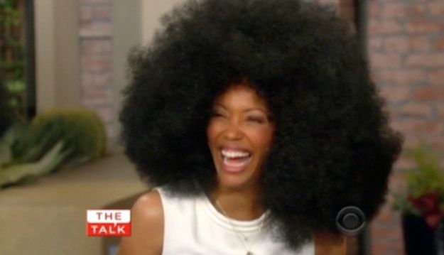 Who Wore The Giant Afro Wig Best  Afro Wigs and The giants