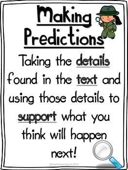 25+ best ideas about Prediction Anchor Chart on Pinterest