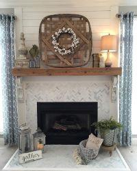 25+ best ideas about Farmhouse Fireplace on Pinterest