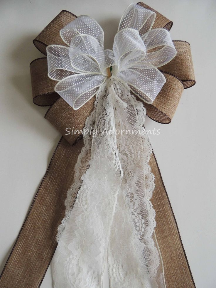 1000 ideas about Chair Bows on Pinterest  Wedding Chair