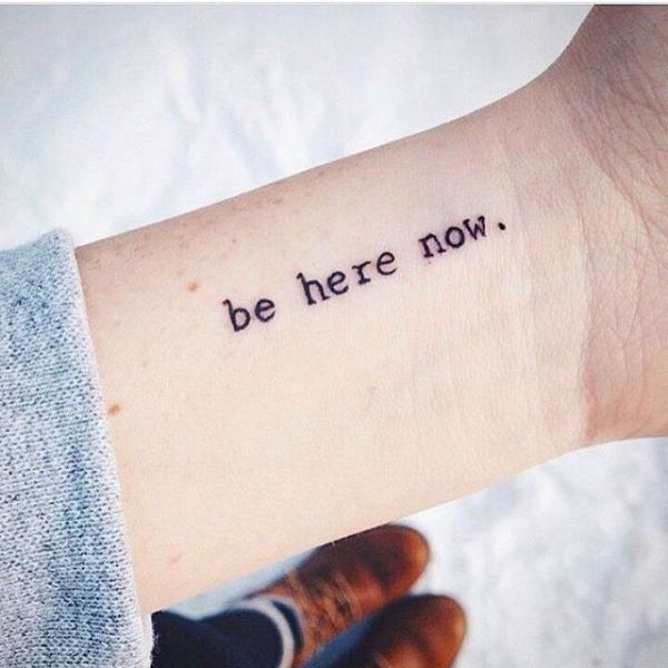 Best 25 Small quote tattoos ideas on Pinterest