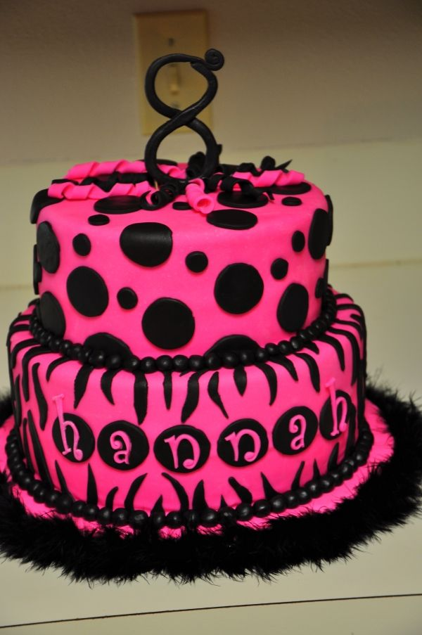 Best 25 Zebra Birthday Cakes Ideas On Pinterest