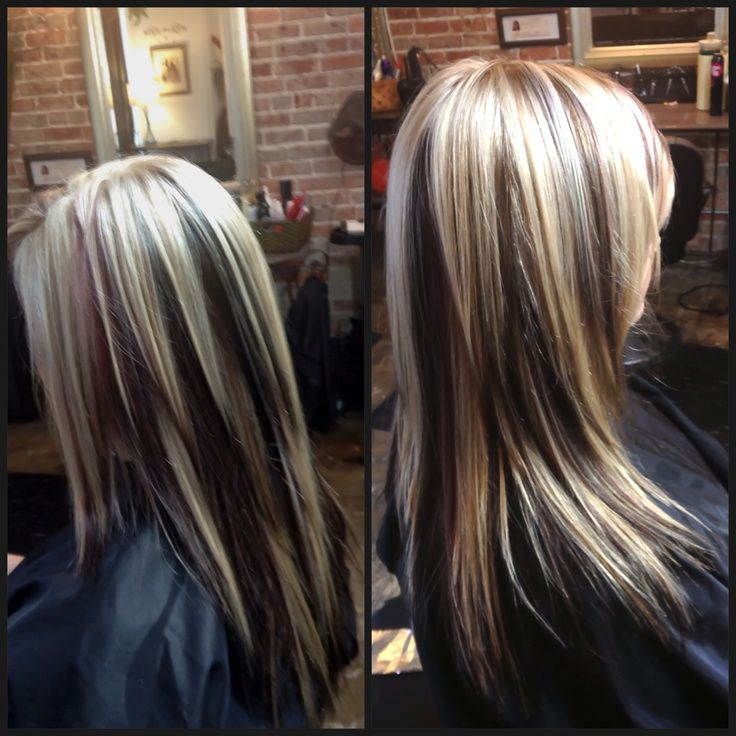 25 Best Ideas About Black With Blonde Highlights On Pinterest