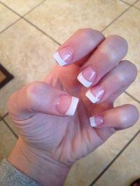 Short Square Acrylic Nails French Manicure | www.imgkid ...