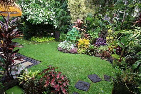 stunning tropical gardens souh