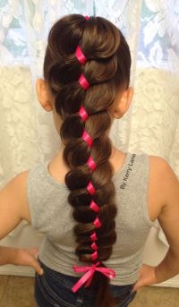 17 Best ideas about Ribbon Braids on Pinterest | Plaits in ...