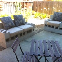Spent the morning building some cinder block patio ...