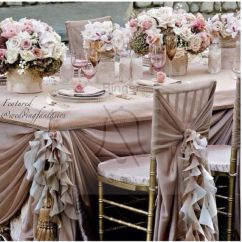 Chair Covers Rental Cheap Bouncing For Babies Age Ruffled Chiffon | Rubina Wedding Ideas Pinterest Covers, And Chairs