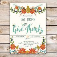 25+ best ideas about Thanksgiving invitation on Pinterest ...