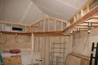 drop soffit in vaulted ceiling