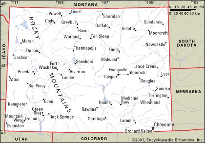 state map of wyoming cities Google Search ROAD MAPS OF