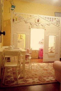 Pottery Barn Kids Cottage Loft Bed for my daughter's Peter ...
