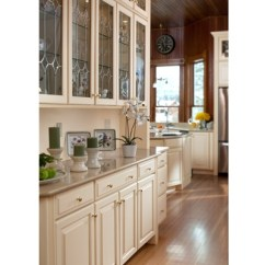 The Orleans Kitchen Island 19x33 Sink Style 610d In Maple Butterscotch Glaze | Waypoint Cabinets ...