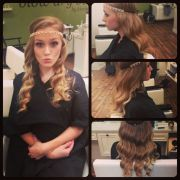 great gatsby dance #hair #curls