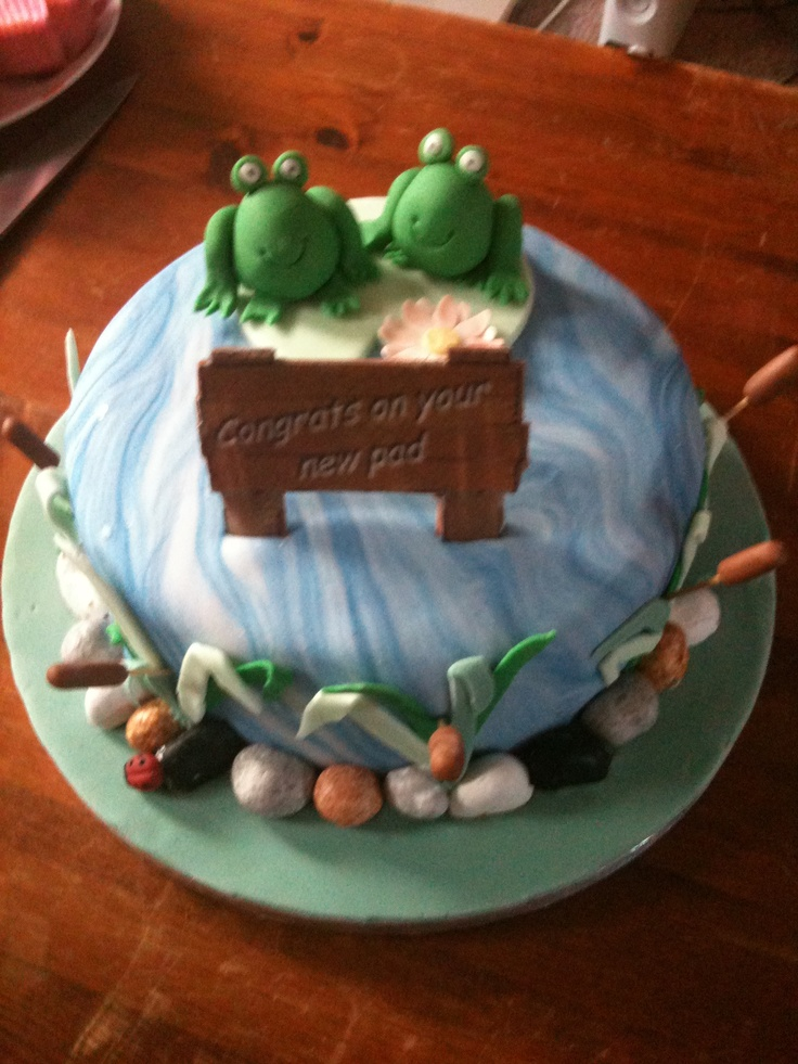 New Pad House Warming Cake Party Ideas Pinterest