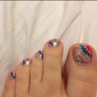 Paisley design I did on my toes. Love it! Nail art ...