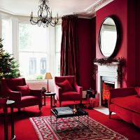 25+ best ideas about Christmas living rooms on Pinterest