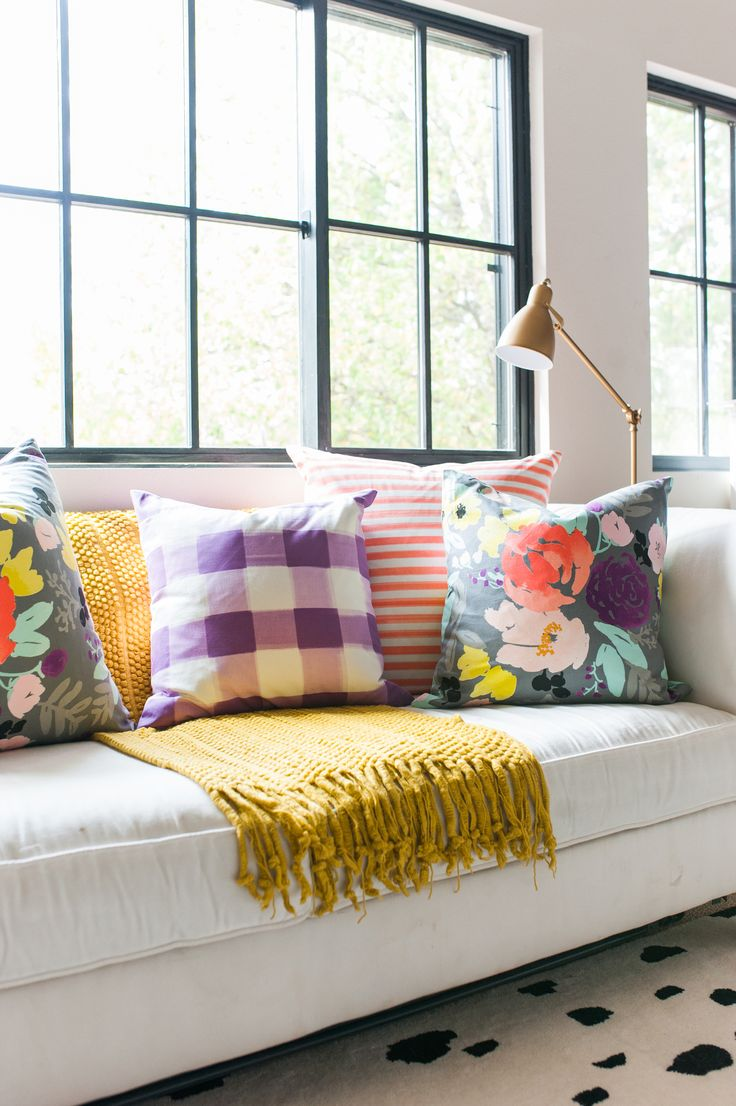 bright colored living room rugs country furniture ideas 25+ best about pillows on pinterest | cheap ...