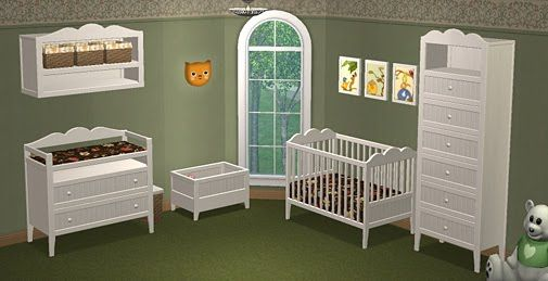 Hansen Nursery  Sims 2 Play  TS2 Baby  Children