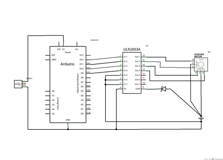 motor winding schematics