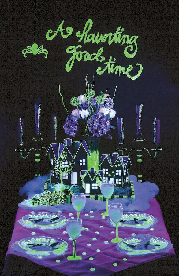 1000 images about Halloween GlowintheDark Spooktacular Halloween Party Decorations  Ideas
