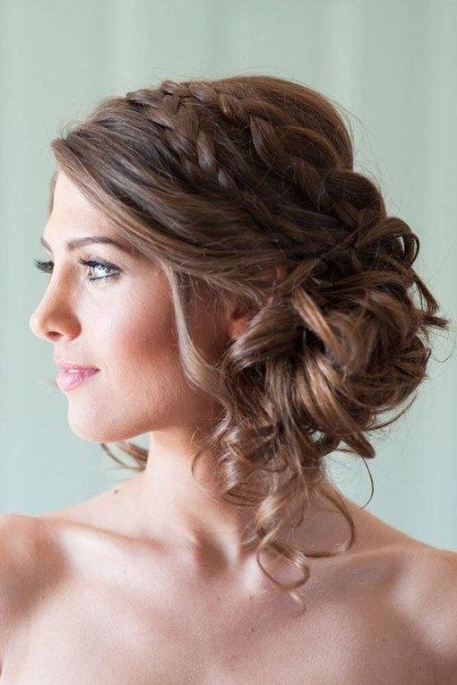 Die Besten 20 Hochzeitsfrisuren Ideen Auf Pinterest
