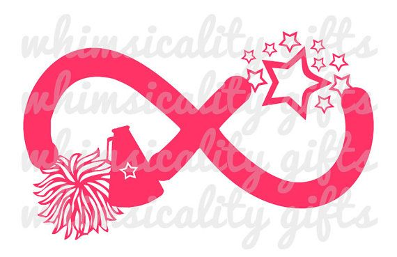 Download Digital File - Infinity Cheerleading with SVG, DXF, PNG ...