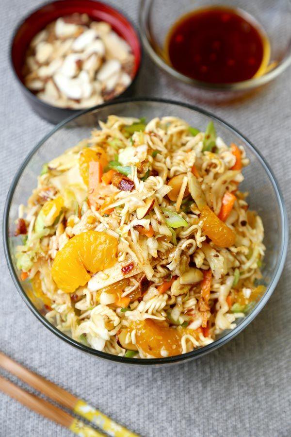 Chinese Ramen Noodle Crunchy Salad