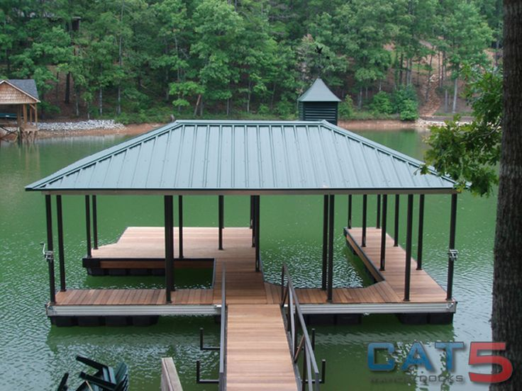 lake house deck designs  Boat Dock Designs Building Plans House Plans  Lake House Dreams