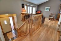 Another deeper entryway in a raised ranch (bilevel) to ...