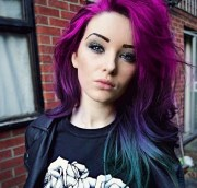 purple teal turquoise ombre