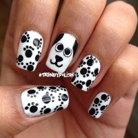 Uas decoradas inspiradas en perritos - Dog Nail Art ...
