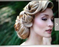 Nice 50's hair style | Hairstyles for Weddings | Pinterest ...