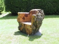 17 Best images about Chainsaw wood Carving chair design ...
