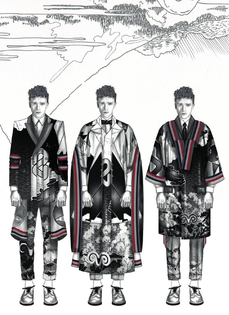 186 best images about Men's Fashion Sketches on Pinterest