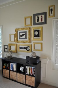 17+ best images about Empty Frames - DIY Wall Art on ...