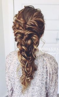 25+ Best Ideas about Curly Braided Hairstyles on Pinterest ...
