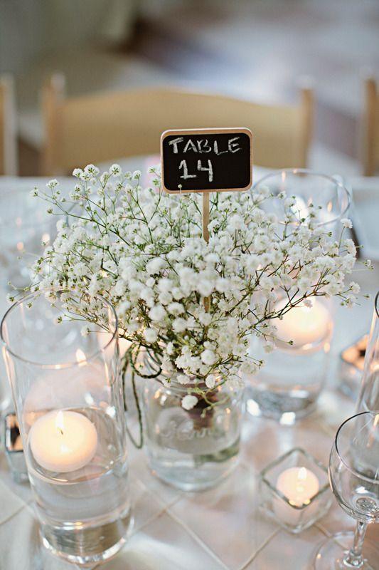 25 best ideas about Simple wedding centerpieces on Pinterest  Simple centerpieces Simple