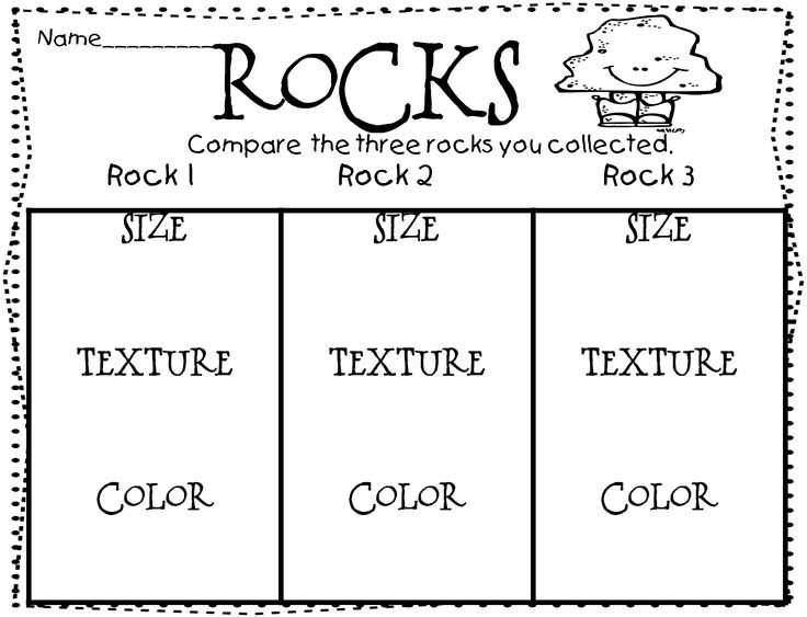 All Worksheets » Rocks And Soil Worksheets For First Grade