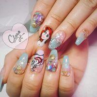 Best 25+ Princess Nail Designs ideas on Pinterest | Disney ...