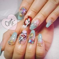 25+ best ideas about Princess Nail Art on Pinterest ...